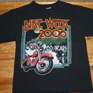 BIKE WEEK 2006 65th Anniversary Tee